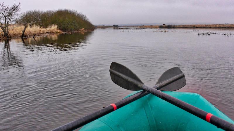Søen behagelig krog op